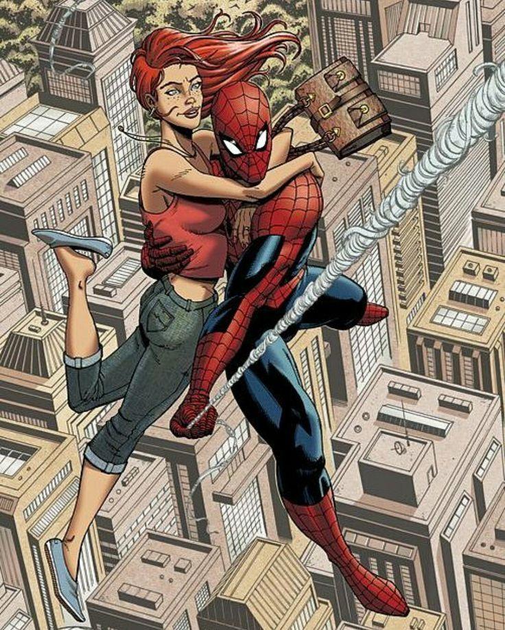 Spider-Man & Mary Jane Watson By Ian Navarro