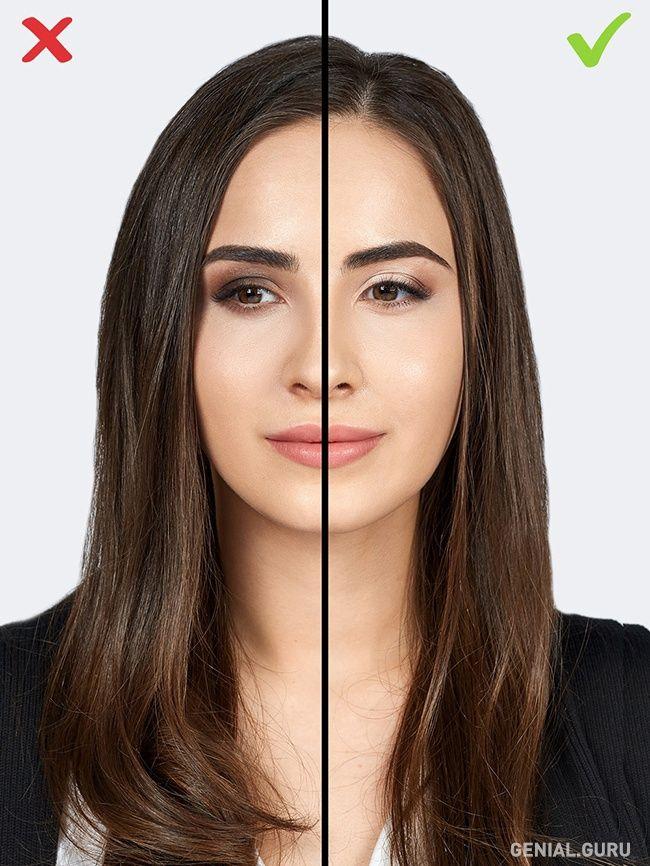 10 Errores de maquillaje que te agregan años. 4-Sombras oscuras. Las sombras oscuras aplicadas en todo el párpado pueden hacerte lucir más vieja visualmente. Si quieres lucir más joven, aplica el tono oscuro únicamente en el extremo de cada ojo.