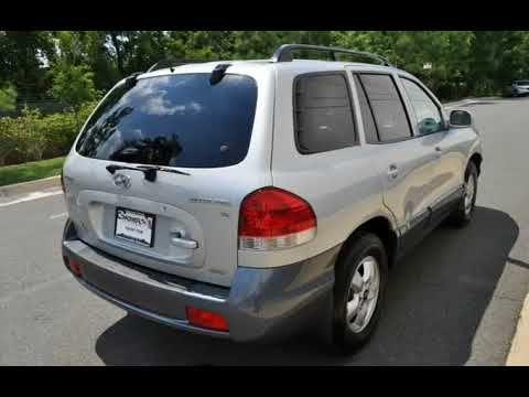 2005 Hyundai Santa Fe 4dr GLS 4WD 2.7L Auto (Chantilly, Virginia)
