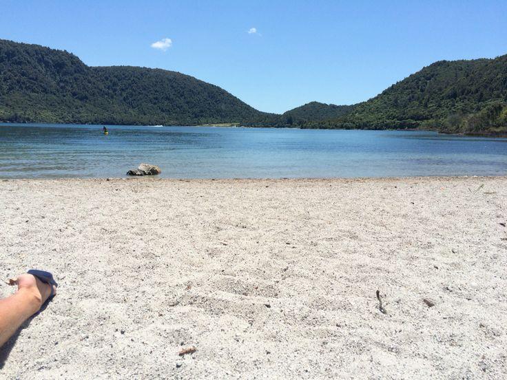 Blue Lakes, Rotorua, New Zealand #newzealand #bluelakes