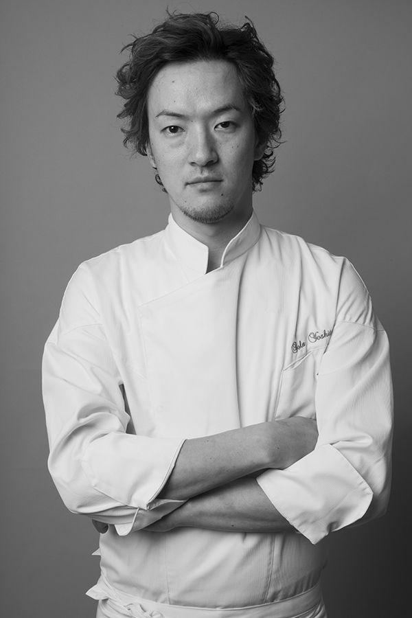 Chef étoilé Hiroki Yoshitake, restaurant SOLA ©Hiromasa Sasaki