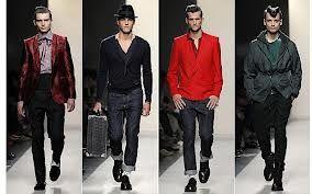 This is a modern interpretation of 1950's men's dress.