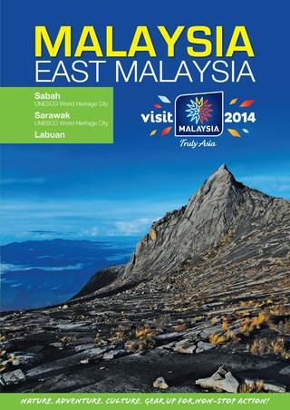 East Malaysia Tourist Region Brochure. See more brochures in Bookletia Travel Destinations Library.