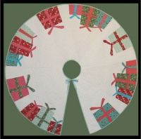 All I Want for Christmas Tree Skirt Pattern TA-101