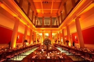 Corcoran Gallery of Art in the heart of Washington, D.C. is the perfect location for an elegant wedding.  Cost to rent the museum starts at $1,000. http://www.eventective.com/USA/Dist+of+Columbia/Washington/68024/Corcoran-Gallery-of-Art.html