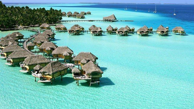 Condé Nast Traveler's: Overwater Bungalows in French Polynesia