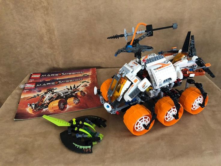 7699 Lego Complete Mars Mission MT-101 Armoured Drilling Unit space ship #Lego
