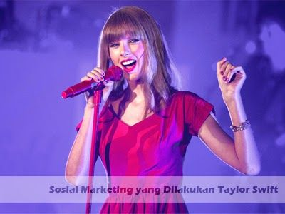 Sosial Marketing yang Dilakukan oleh Taylor Swift >> http://goo.gl/juOOdV #taylor #swift #sosial #marketing