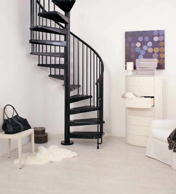 17 best images about spiral staircase on pinterest wood for Cheap stair makeover