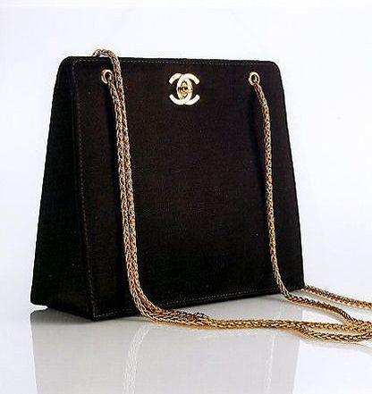 Chanel 1990 s Silk evening bag  e13730eda7926