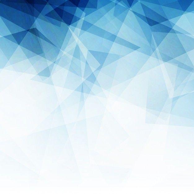 Fondo abstracto azul Vector Gratis