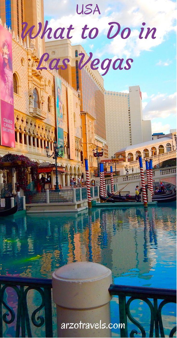 A quick guide to Las Vegas, USA.
