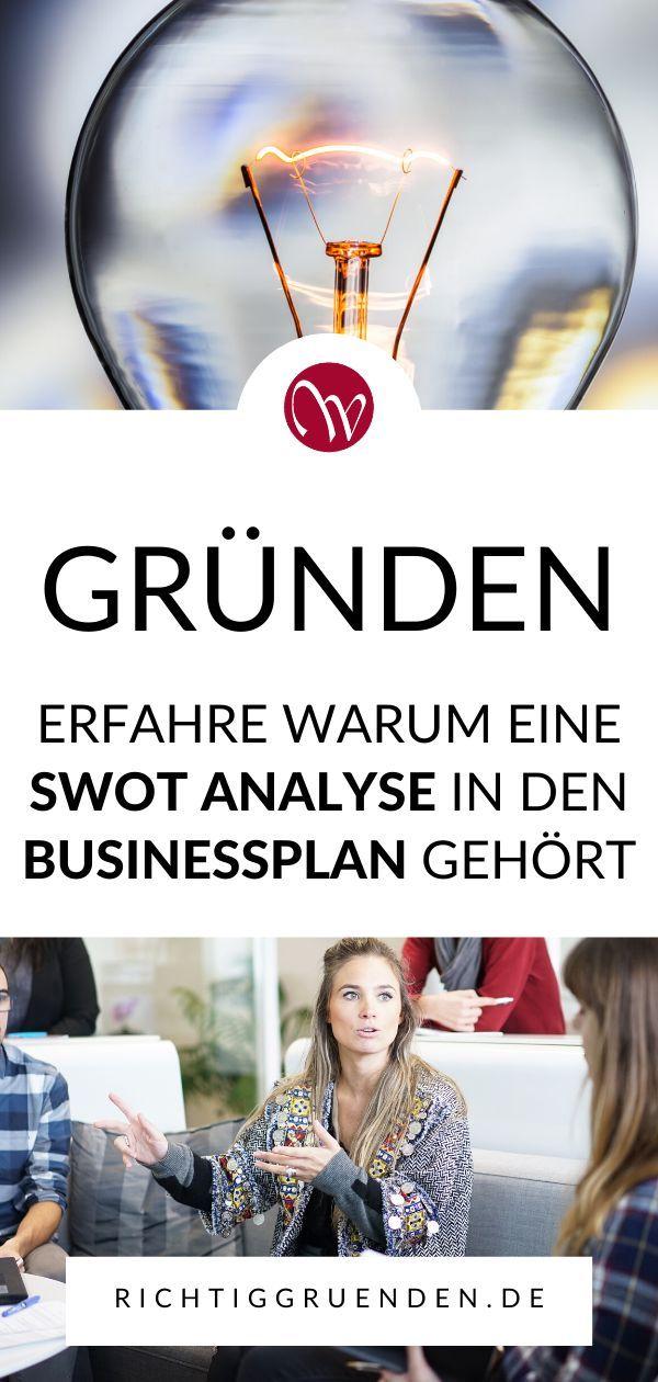 Erfolgreich Und Richtig Grunden Grunder Know How Businessplan Swot Analyse Existenzgrundung