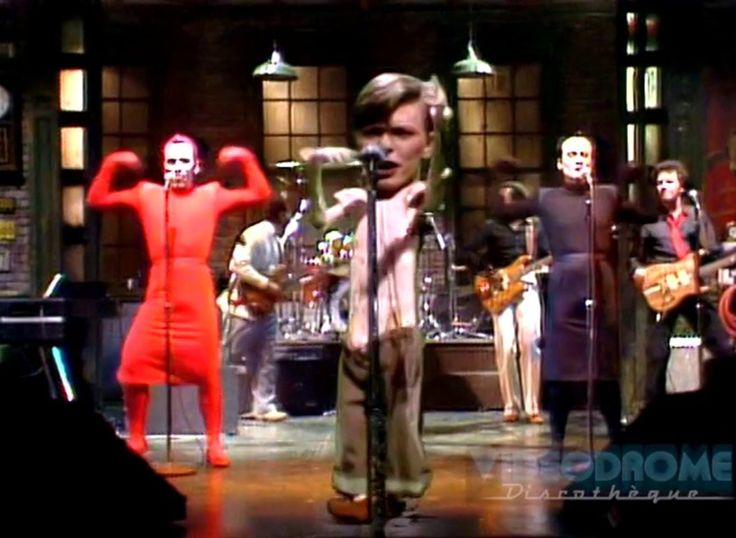 DAVID BOWIE (With Klaus Nomi & Joey Arias) - 3 Songs, Late On A Saturday Night In 1979