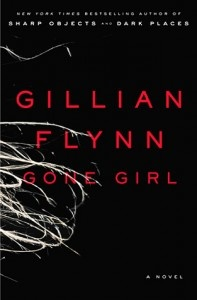 Gone Girl, by Gillian Flynn. It's good. You should read it. Also, here in my blog post about it, you will learn that any book that joins me in disparaging Delaware automatically wins about 1400 points from me. #fiction: Gone Girl