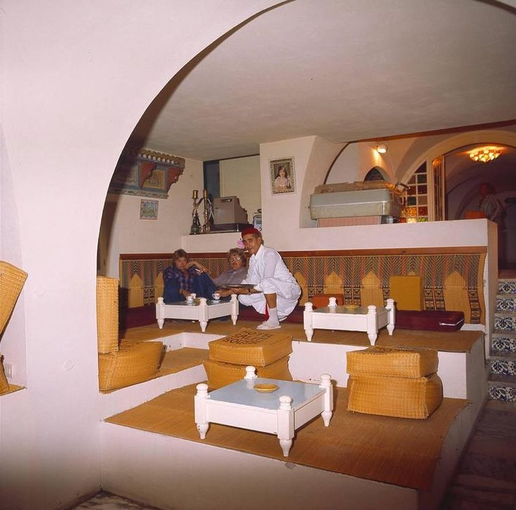 Hotel Lobbies, Rooms and Bars - Hotel Salem Tunesien, Sousse, 1980ties 1