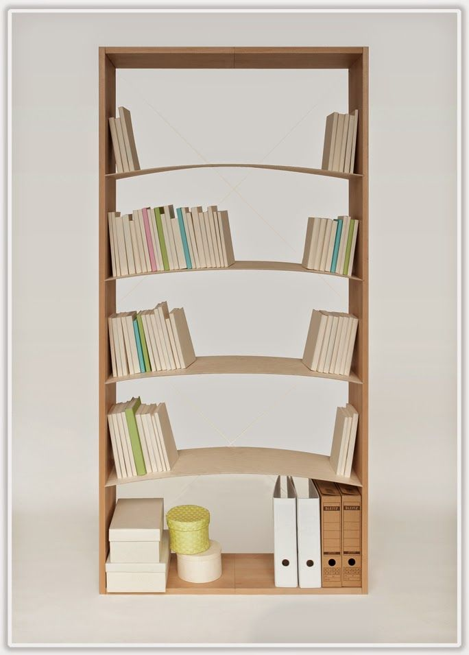 Love This Smart Idea Of A Bookshelf 2013 07 17 02 22