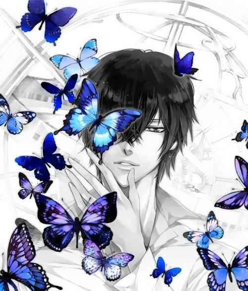 anime boy with wings | Anime Boy | general anime ...