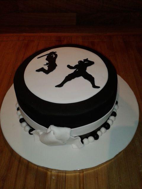 Geburtstag-Erwachsene » Torte Ninja-Style ;-)