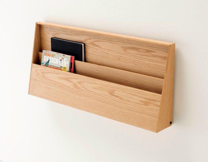 Wooden Secretary Desk / Wall Shelf FJU By Living Divani Design Kaschkasch