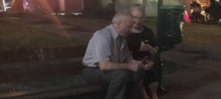 OMG VIDEO NEWS: Ζευγάρι ηλικιωμένων από το Γέρακα γίνεται viral -Η φωτογραφία ορισμός της αγάπης [εικόνες]