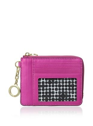 30% OFF Kate Spade Saturday Women's Leather Card & Coin Wallet, Bright Magenta