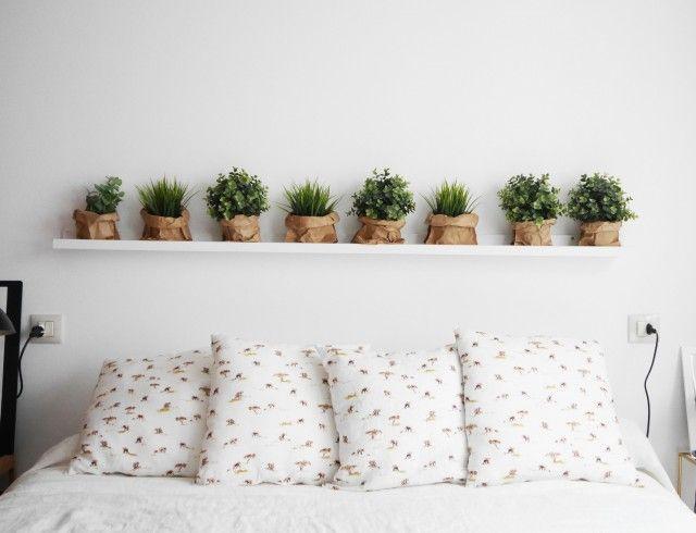 cabecero pinterest con plantas                                                                                                                                                                                 Más