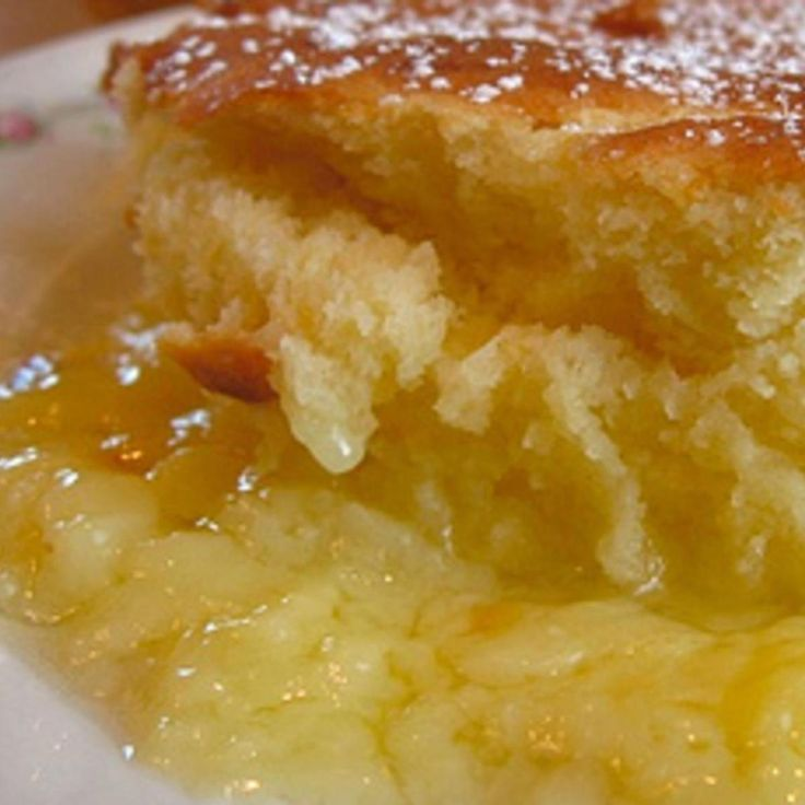 Crockpot Lemon Pudding Cake