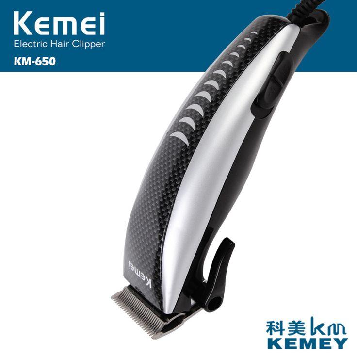 High Power 12W Electric Hair Clipper Power strong Ceramic Titanium Hair Trimmer for Men Hair Cutting Machine EU Plug long life