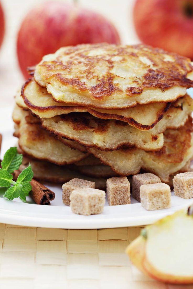 Whole Wheat Apple Cinnamon Pancakes (Weight Watchers)