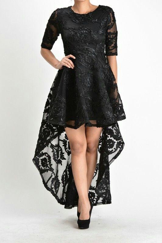 A Leah High-Low Dress
