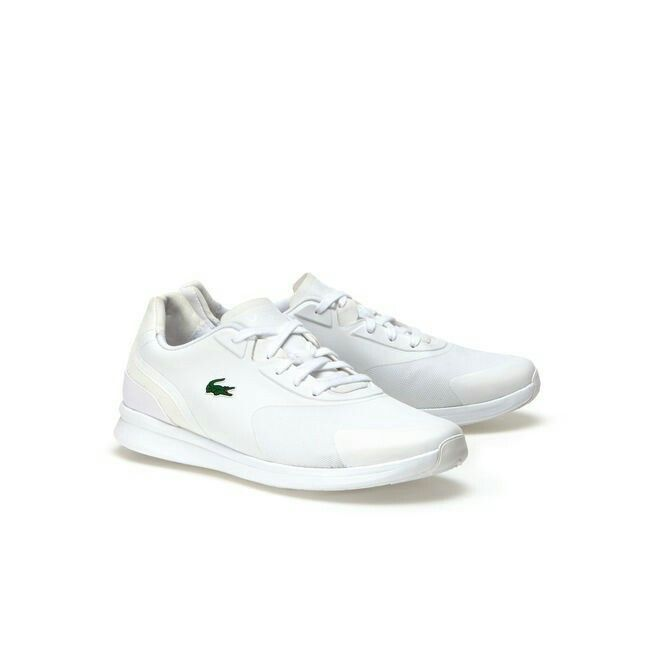 Vita sneakers från Lacoste