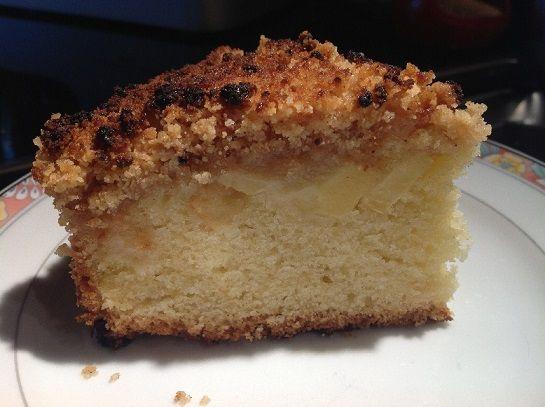 Gâteau aux coings et son crumble - Recette au Cooking Chef