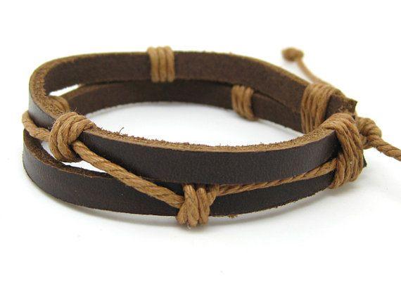 jewelry bangle bracelet leather bracelet  by jewelrybraceletcuff, $3.00