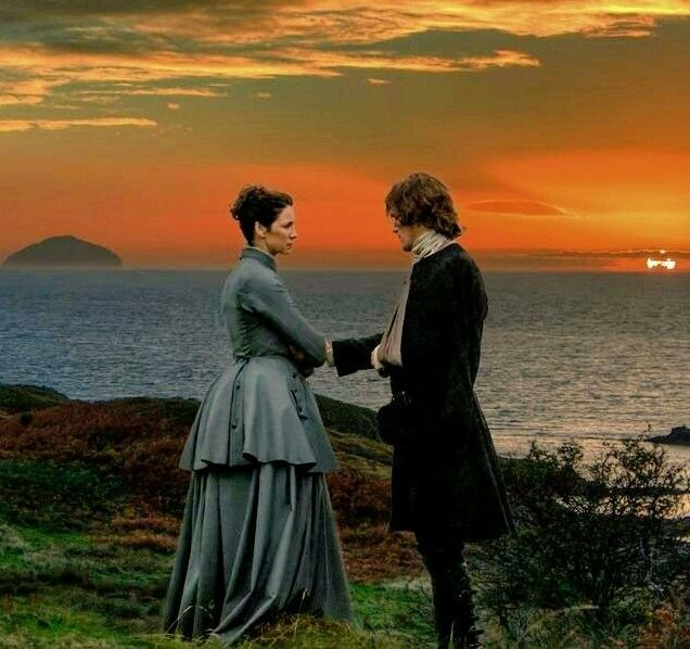 Claire and Jamie Fraser - Outlander_Starz Season 3 Voyager - Episode 308 First Wife - November 5th, 2017