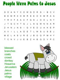 #PalmSunday Word Search Puzzle from @DLTKsCrafts Great resource chock full of craft ideas too! Do you have a favourite kids craft site?