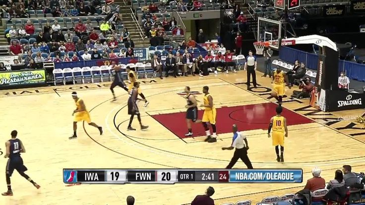 Highlights: Diante Garrett (23 points) vs. the Mad Ants, 1/29/2015