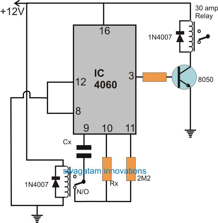 The Post Details A Simple Timer Circuit For Submersible