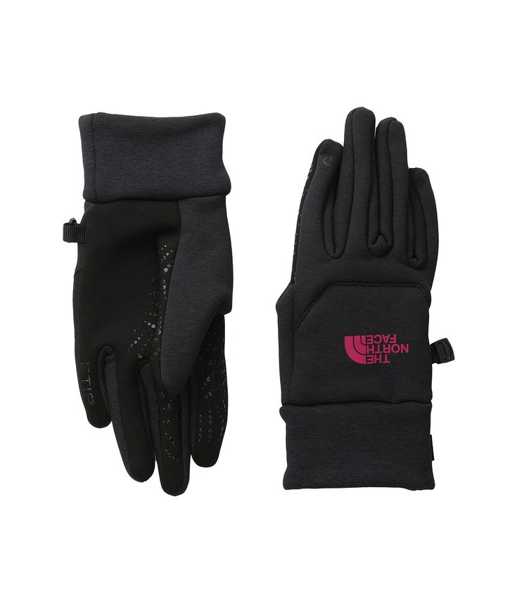 The North Face – Etip Hardface Gloves (TNF Black/Cherise Pink) Extreme Cold Weather Gloves - Best Price