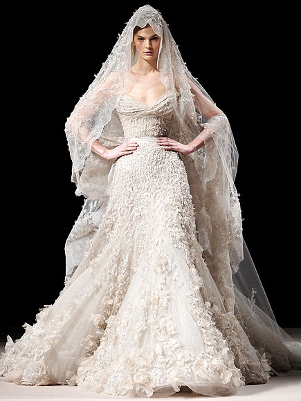 Armani bridal couture go here for your dream wedding for Elie saab prices wedding dress