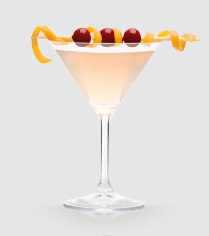 Limonata Rosa    2 oz Double Cross™  1 oz fresh lemon juice  1 oz Limoncello®  1/4 oz cranberry juice  Pour all ingredients into a clear mixing glass. Add ice, shake and strain into a martini glass. Garnish with an orange twist.