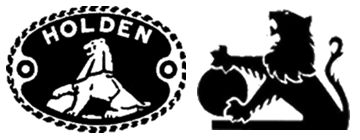 Holden logos from 1928 (left) and 1972 (right).  GM Holden Model Identification  ORIGINAL HOLDEN IDENTIFICATION CODE TABLE: 0  1   2  3   4  5  6   7   8  9  A  K  J  H  G  F  E  D  C  B  From the FJ through to the EH, GMH used a simple model identification code. The first letter indicated the decade and the second the year. So FE equals (19)56 and EH equals (19)63. Thus all codes beginning with F (FJ, FE, FC, FB) are '50s models, those beginning with E (EJ, EH) were for the 1960s.