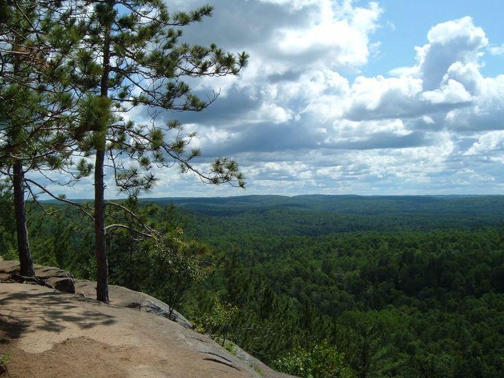 Lookout Point Algonquin Provincial Park, Ontario, Canada