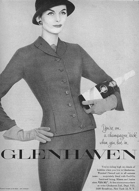 September Vogue 1956 Glenhaven