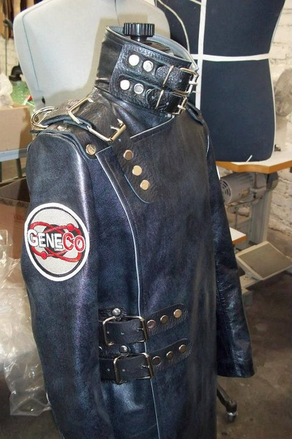 One of a kind hand made custom costume based on the RepoMan character from the cult classic musical Repo! The Genetic Opera Costume includes: