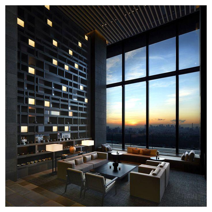 Medium Hotel Interior: Kerry Hill Architects - Aman Hotel [Tokyo, 2015]