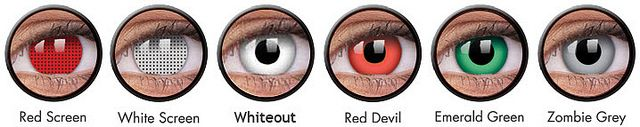 Match your Halloween costume with Halloween contact lenses. Colorvue brings you red contact lenses this season for a scary effect. For more information visit Our Website: - www.colourvue.net.au