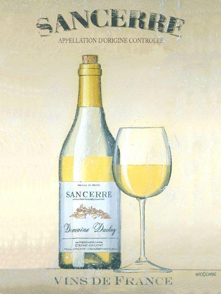 SANCERRE Wine Metal Sign, Vin du france, french wine #OMSC #Americana
