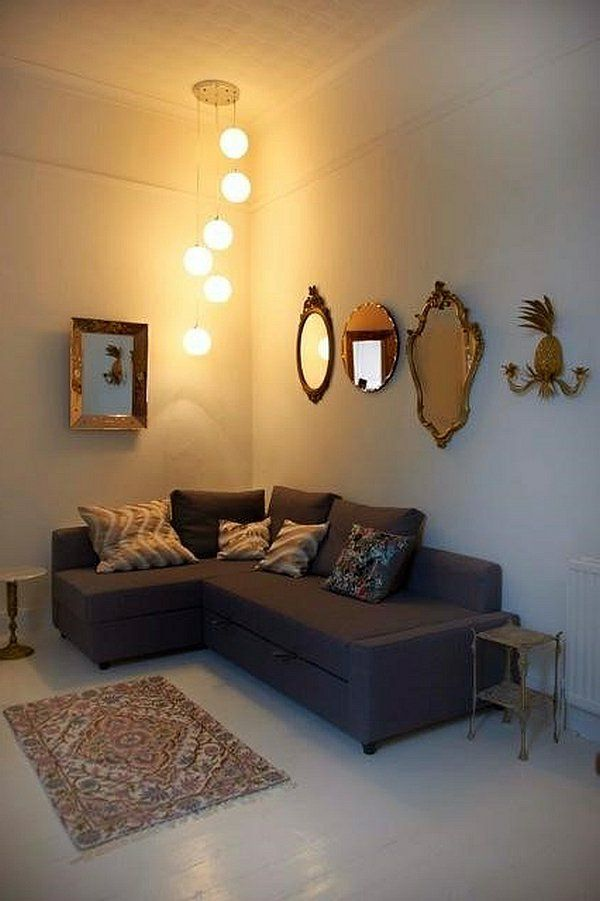 Popular kleines wohnzimmer einrichten antik akzente