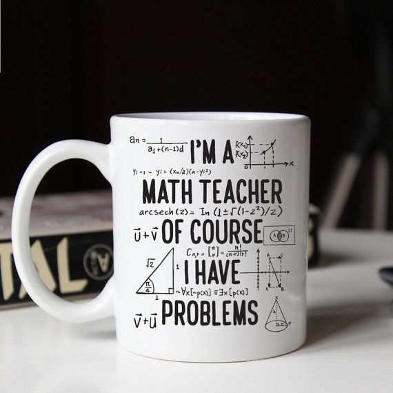 Cadeau pour professeur de maths drôle mathématiques